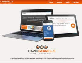 #56 para Logo Design for David Gerrells Web por JoGraphicDesign