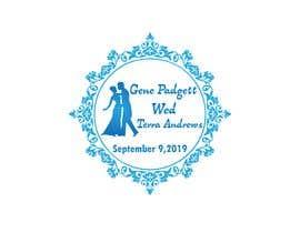 #87 cho Padgett Wedding Logo bởi Design4ink