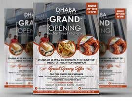 #25 untuk Design a Flyer for a Indian Street Cafe oleh satishandsurabhi
