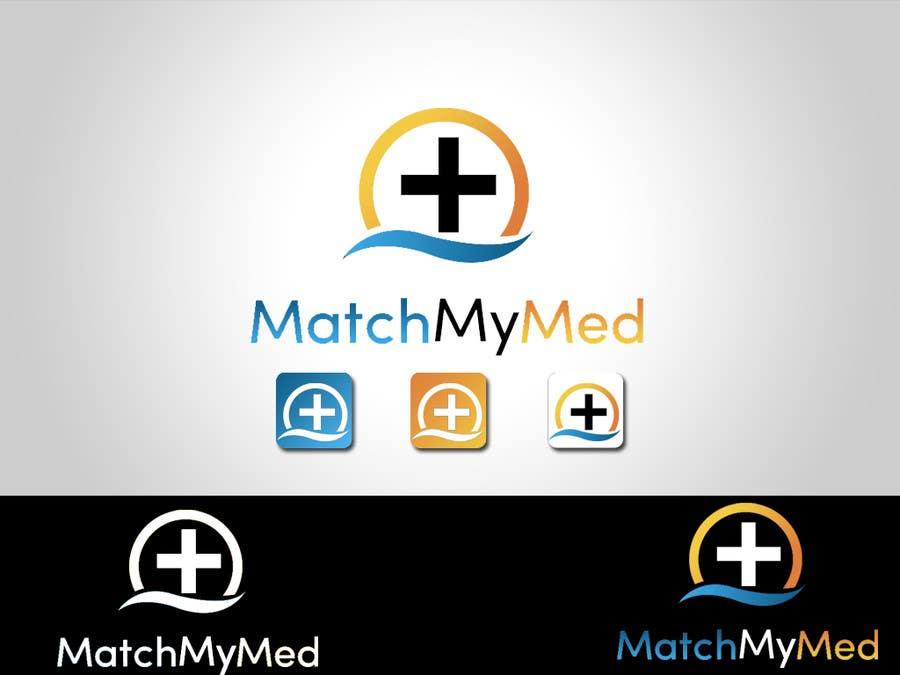 Konkurrenceindlæg #39 for Logo Design for Match My Med