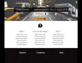 #5 для I need a mockup of a ground transportation website (4 pages and 1 logo) от AfroDesigns