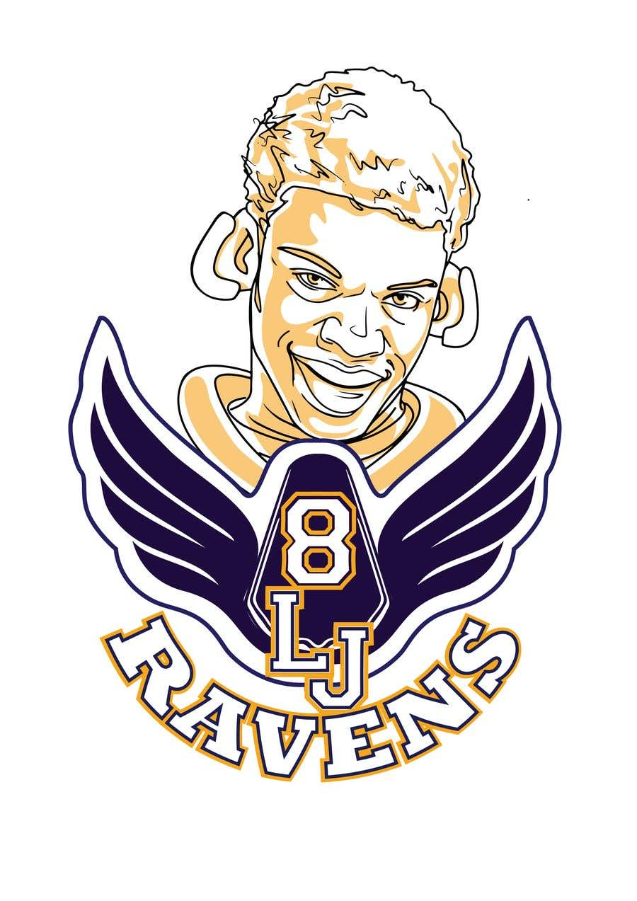 Konkurrenceindlæg #24 for Lamar Jackson 8 Logo Tshirt
