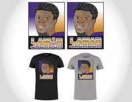 #6 for Lamar Jackson 8 Logo Tshirt af Sico66