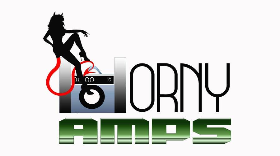 Proposition n°                                        21                                      du concours                                         Logo Design for Horny Amps