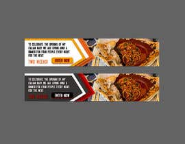 #21 for Design Italian Restaurant Digital Top banner Ad by designerrose363