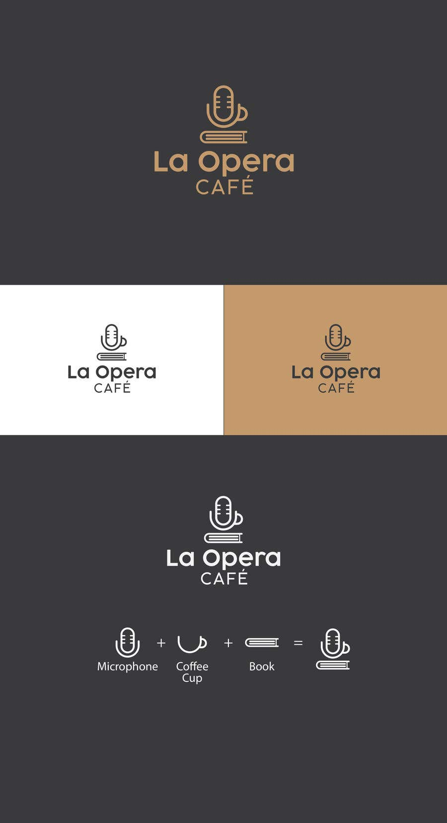 Contest Entry #112 for logo for a coffeehouse