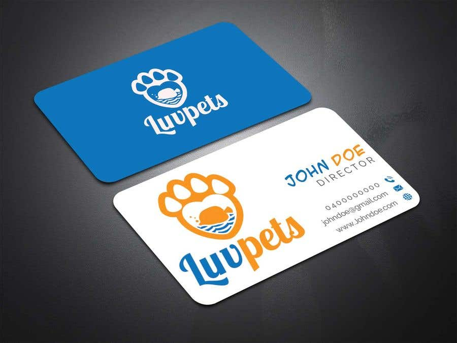 Konkurrenceindlæg #97 for Create Business cards for Pet business