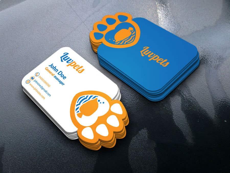 Participación en el concurso Nro.92 para Create Business cards for Pet business
