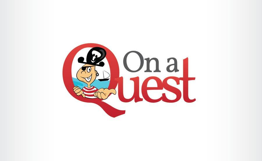 Kilpailutyö #87 kilpailussa Logo Design for On a Quest