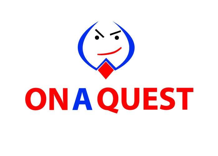 Kilpailutyö #192 kilpailussa Logo Design for On a Quest