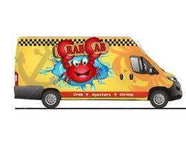 Nro 37 kilpailuun food truck sticker and logo design käyttäjältä amberjoey111