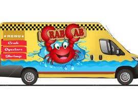 Nro 39 kilpailuun food truck sticker and logo design käyttäjältä amberjoey111