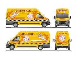 Nro 44 kilpailuun food truck sticker and logo design käyttäjältä qamarkaami