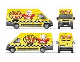 Nro 47 kilpailuun food truck sticker and logo design käyttäjältä qamarkaami
