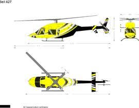 #107 for Design a helicopter paint design by hiisham78