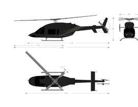 #111 for Design a helicopter paint design by PRcreativ
