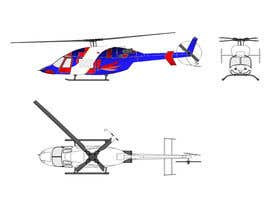 #121 for Design a helicopter paint design by bhimdas96