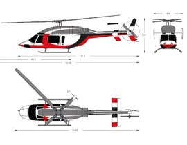 #122 for Design a helicopter paint design by Dylanteoh