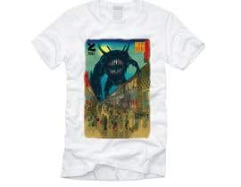 #6 для Monster attack on city T shirt design от DjIloveDESIGN