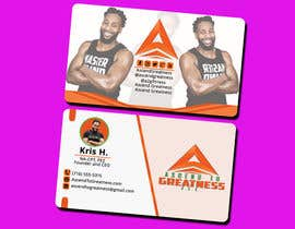 #153 for Design Personal Trainer Business Cards by Monowar8731