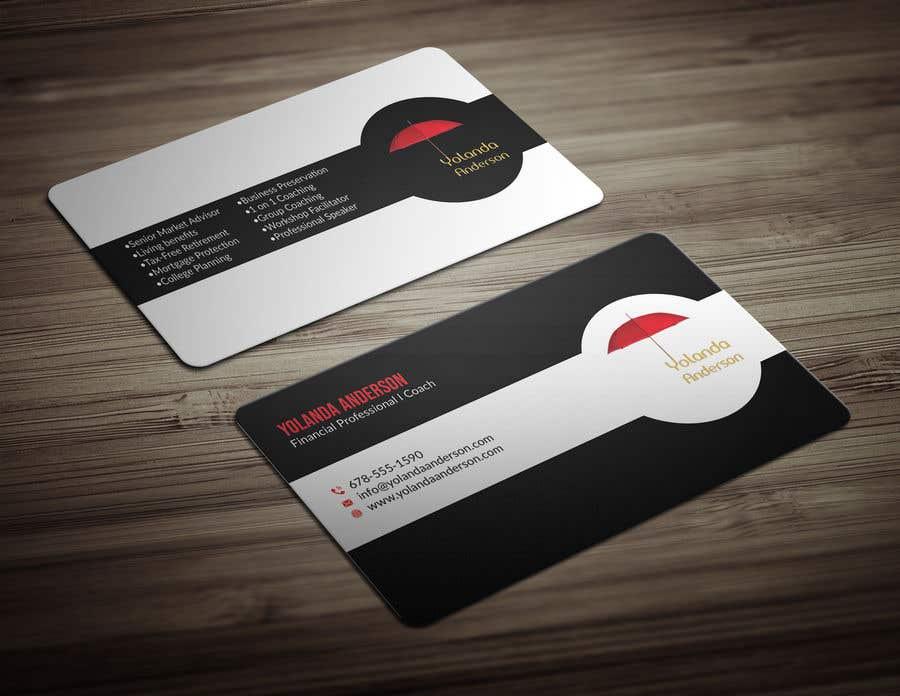 Penyertaan Peraduan #93 untuk Design Insurance Salesman Business Cards