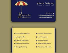 #118 untuk Design Insurance Salesman Business Cards oleh Mannan80