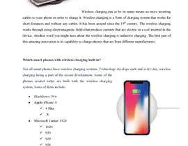 "#10 for Write an article titled ""What's The Wireless Charging And Which Phones Are Supported?"" af Karey002"