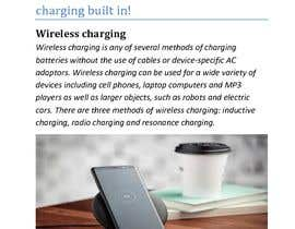 "#7 for Write an article titled ""What's The Wireless Charging And Which Phones Are Supported?"" af Masokul"