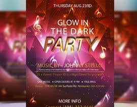 #20 pentru Design a glow in the dark party club flyer de către snusrat