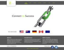 #5 for Home page design af lola2021