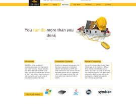 #2 for Home page design af ArtNicoleRichard