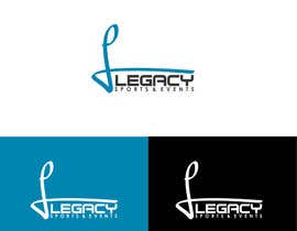 #74 para Logo Design for Legacy Sports & Events por mzdiq