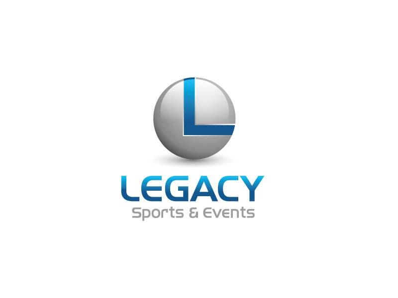 Bài tham dự cuộc thi #161 cho Logo Design for Legacy Sports & Events