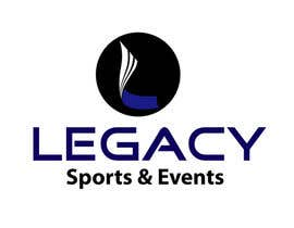 #53 para Logo Design for Legacy Sports & Events por woow7