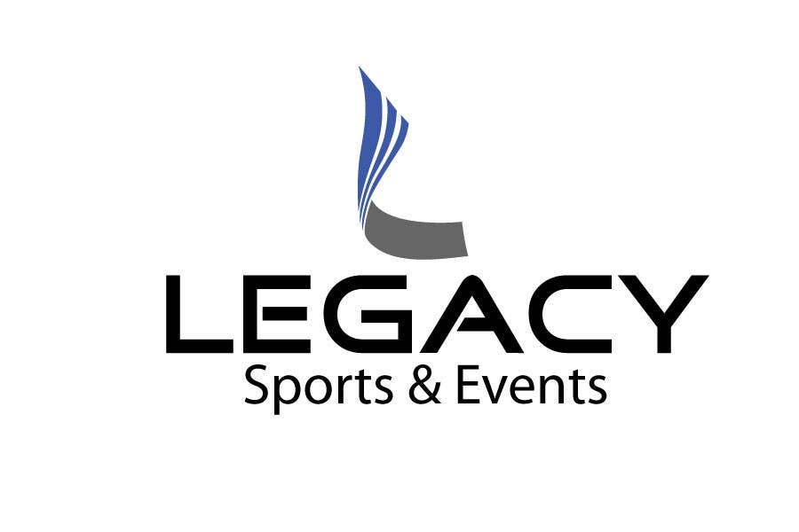 #51 for Logo Design for Legacy Sports & Events by woow7