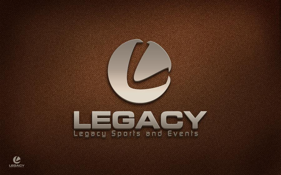 #145 for Logo Design for Legacy Sports & Events by Dewieq