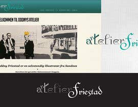 #7 para Logo Design for atelier Friestad por IIDoberManII