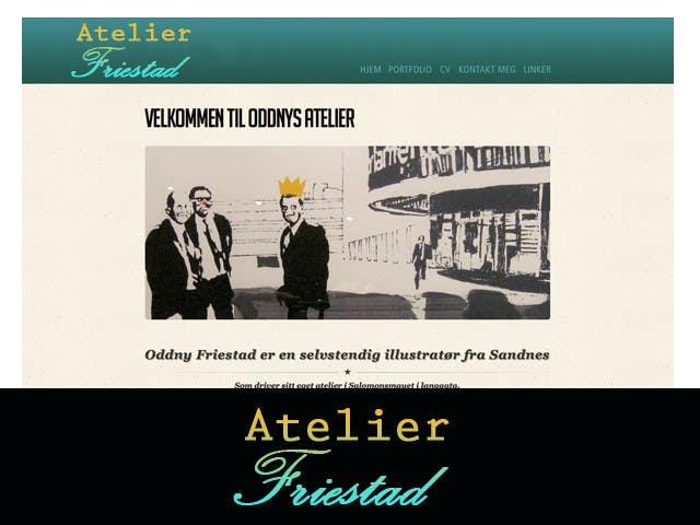 Proposition n°10 du concours Logo Design for atelier Friestad