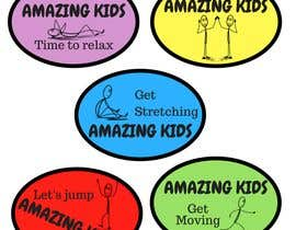 #7 for Amazing kids stickers by andreaHR1