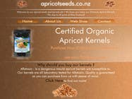 #10 for Graphic Design - Redesign FRONT PAGE Only - apricotseeds.co.nz website by ivegotlost