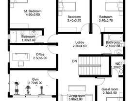 #29 for Floorpan design by arcalaamohamed