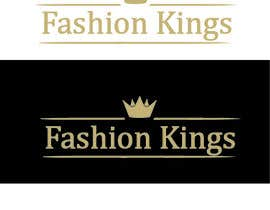 #30 untuk Edited Logo for Fashion Kings Clothing oleh darkavdark