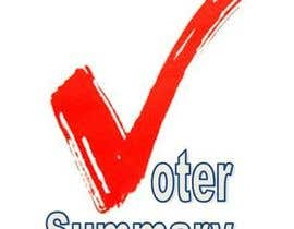 nº 6 pour Logo Design for Voter Summary par tannic
