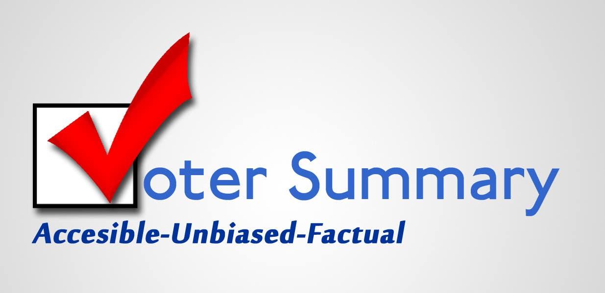 Bài tham dự cuộc thi #                                        22                                      cho                                         Logo Design for Voter Summary