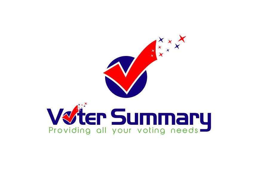 Bài tham dự cuộc thi #                                        14                                      cho                                         Logo Design for Voter Summary