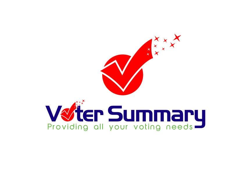 Bài tham dự cuộc thi #                                        13                                      cho                                         Logo Design for Voter Summary