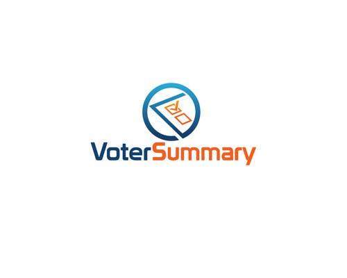 Bài tham dự cuộc thi #                                        9                                      cho                                         Logo Design for Voter Summary
