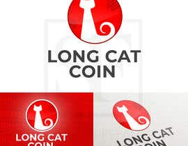 #9 for Create a Logo for the Crypto Currency 'LongCatCoin' by linktoDesigner