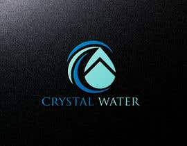 #25 dla I need a logo design for potable water brand  The selected name is Crystal Water przez shahadatmizi