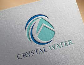 #27 dla I need a logo design for potable water brand  The selected name is Crystal Water przez shahadatmizi